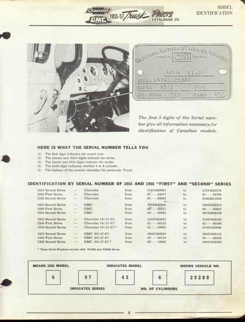 Advanced Design Chevy Trucks 1947 1954 1949 Truck Paint Colors Reference Material